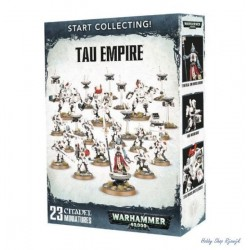 Start collecting, Tau Empire