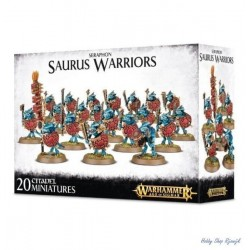 Seraphon, Saurus Warriors