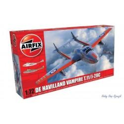 Airfix, DeHaviland Vampire...