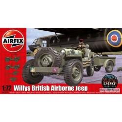 Airfix, Willys British...