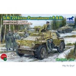Bronco, SdKfz.221 Leichter...