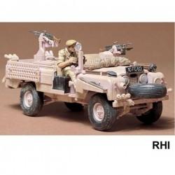 Tamiya, SAS. Land rover...