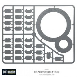 Warlord, Bolt action Templates