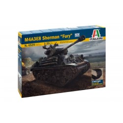 "Italeri, M4A3E5 Sherman ""Fury"""