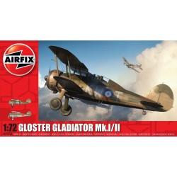 Airfix, Gloster Gladdiator...