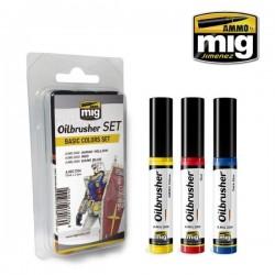 "MIG, Oil brusher set ""Basic..."