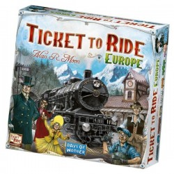Ticket to Ride, Europe (GB)