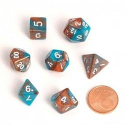 Fairy mini dice (7) Orange...