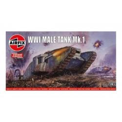 WWI male tank Mk.I (vintage...