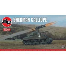 Airfix Sherman Calliope...
